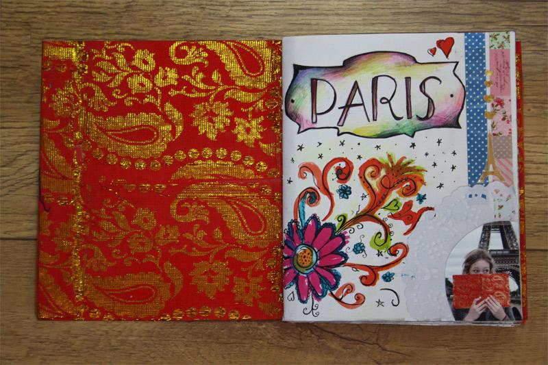lief vakantiedagboek #1; ik ging naar parijs
