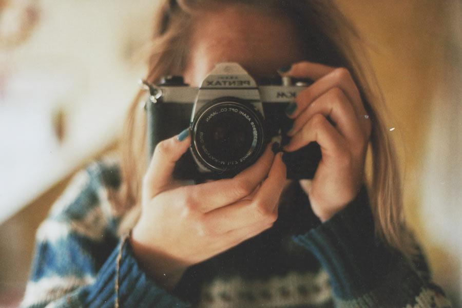 een grappig verhaal voor als ik later een beroemd fotografe ben