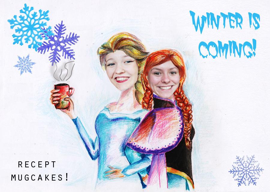 winter is coming!!! – recept mug cake's –
