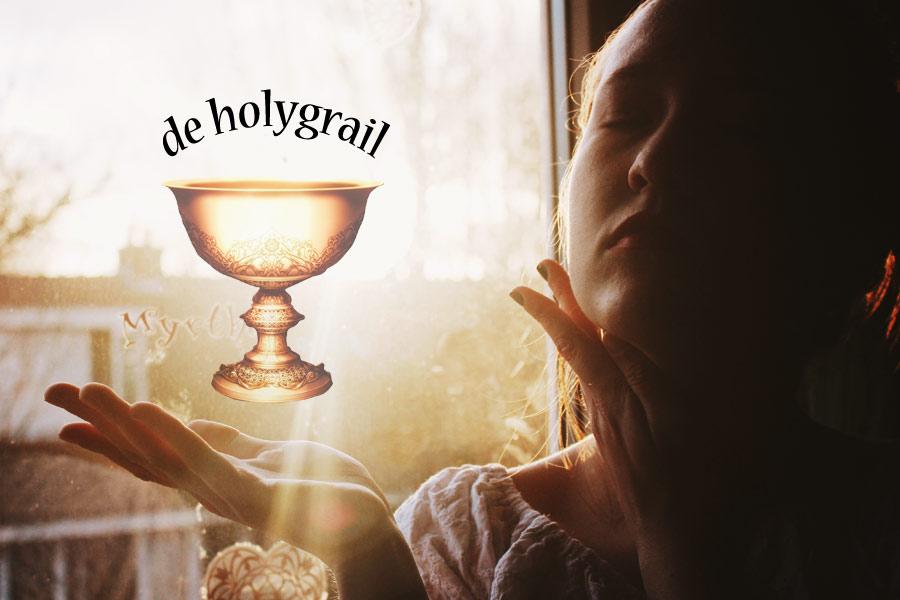 de holygrail voor een blogger