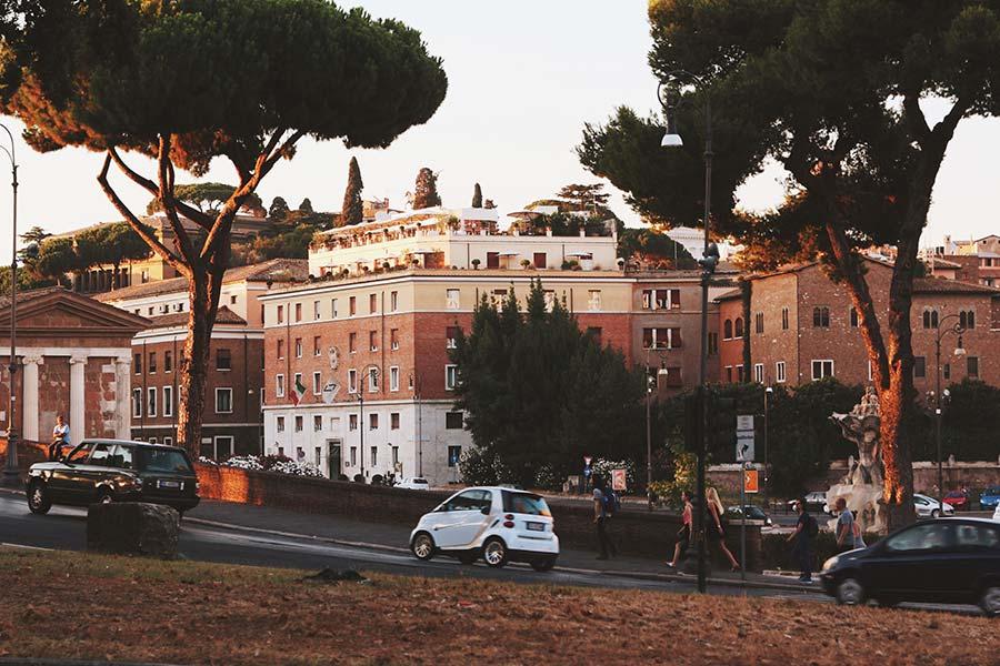 rome, tot weerziens